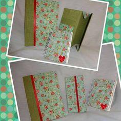 caderno, carteira e agenda telefônica