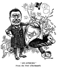 Teddy Roosevelt Political Cartoons | Theodore Roosevelt : Political Cartoons : Antitrust Themes