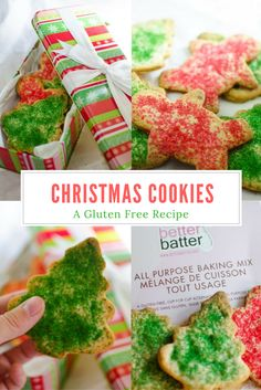 Gluten Free Christmas Cookies, an easy and delicious holiday recipe!