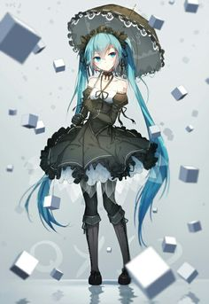 Anime picture with vocaloid hatsune miku bai yemeng single tall image looking at viewer fringe twintails standing holding very long hair aqua eyes aqua hair hair between eyes full body tattoo reflection weightlessness revision girl Manga Girl, Manga Anime, Anime Art, Anime Girls, Sad Anime, Anime Demon, Hatsune Miku Vocaloid, Miku Chan, Kaito