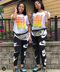 Tag you would match clothes with 👭 Twin Outfits, Chill Outfits, Cute Swag Outfits, Nike Outfits, Summer Outfits, Matching Outfits Best Friend, Best Friend Outfits, Bestfriend Matching Outfits, Look Festival
