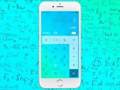Daily UI #004 Calculator by Virág Veszteg