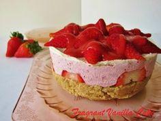 Raw Strawberry Short Cake | Fragrant Vanilla Cake