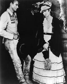John Wayne with Marguerite Churchill