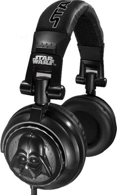 Darth Vader 3D Headphones $34.95