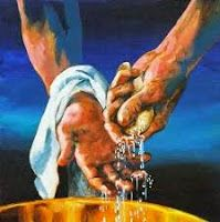 Pontias Pilate, washed his hands of being guilty of His blood on him. Don't wash your hands of asking Jesus into your life.Accept Him into your life today. Words Of Jesus, My Jesus, Word Of God, Jesus Christ, Savior, Pontius Pilate, Christian Pictures, Christian Art, His Hands