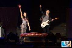 Hong Kong singer Karen Mok performing in Beijing on October 24, 2015.  http://www.chinaentertainmentnews.com/2015/10/karen-mok-opens-world-tour-in-beijing.html