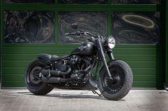 Thunderbike Black Boy | Harley-Davidson Fat Boy Umbau