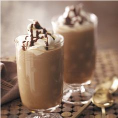 McDonald's Mocha Frappe Ingredients: 1 1/2 cups Cold Coffee 2 Cups Milk 1/4 Cup Chocolate Syrup 1/4 Cup Sugar Directions: Freeze the coffee in ice cube trays. Once frozen, blend everything until smooth and enjoy!! Yes, really…that's all there is to it! Make sure to look below for variations!! This makes enough that you should be able to share – maybe !! http://sweetpenniesfromheaven.com/mocha-frappe-homemade-recipe-tastes-like-mcdonalds/