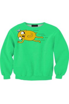Weirdo Print Sweatshirt