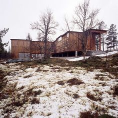 Photos by C-V. Hølmebakk  The cottage is situated 900 metres above sea level in…
