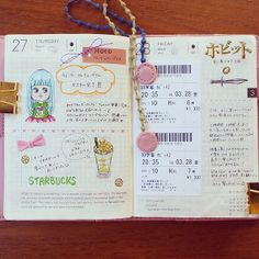 Hobonichi Life-uses a grid instead of lines-a planner