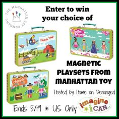 Home on Deranged - Creative play on the go with I CAN play kits - review and #giveaway