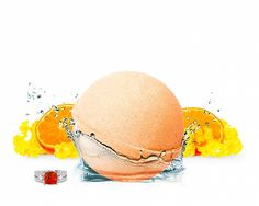 Sun-kissed Nectarine Bath Bomb...Juicy and sweet, this natural blend combines ripe nectarine and green citrus accents, while its honey-musk base adds a touch of warmth to a seductive aroma. Skin is left moisturized with a perfect kiss of fragrance.  Each bath bomb contains one hidden jewel valued $15 to $7500.    http://jewelscent.com/carold