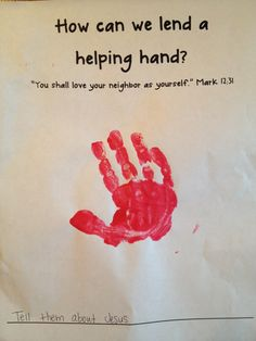 The Good Samaritan Preschool Bible Lesson
