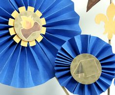 cub scouts blue and gold banquet decorations