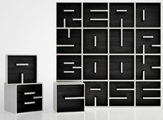 Read Your Bookcase by Eva Alessandrini & Roberto Saporiti