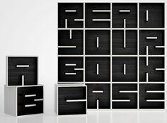 Read Your Bookcase by Eva Alessandrini & Roberto Saporiti
