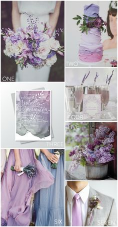 There's something so moody yet completely lovely about lilac details. Here's 7 images that will help you fall in love with a lilac wedding all over again. Lilac Wedding Themes, Lavender Wedding Theme, Spring Wedding Colors, Wedding Color Schemes, Purple Wedding, Summer Wedding, Our Wedding, Wedding Flowers, Dream Wedding