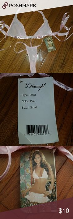 NWT, Ladies Lingerie NWT, never worn, size small.. Free surprise gift with purchase. dreamgirl Intimates & Sleepwear