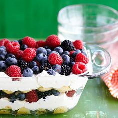 If you think tiramisu has to be made hours ahead, try this fresh, summery version, which comes together in no time. For a non-alcoholic...