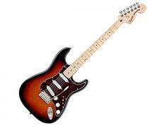 Guitarra Strato Squier Standard - Sunburst Vermelho