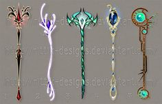 Staff designs 31 by Rittik-Designs on DeviantArt