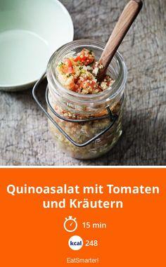 Quinoasalat mit Tomaten und Kräutern - smarter - Kalorien: 248 kcal - Zeit: 15 Min. | eatsmarter.de