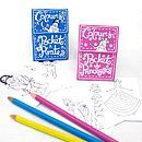 Two Pocket Mini Books -Pirates And Princesses - create & make