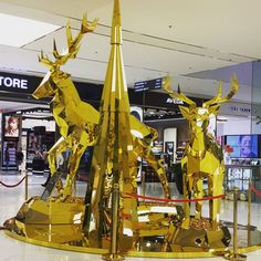 """SM SUPERMALLS,Manila, Philippines, """"Silence is Golden"""", pinned by Ton van der…"""