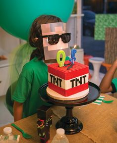 'Block Party' Minecraft Birthday Madness // Hostess with the Mostess®