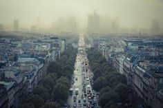 Paris smog has driven the authorities to ban 50% of motor vehicles until the smog goes.  That's a temporary fix!!