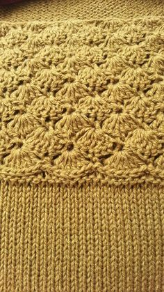 mix-top by Nihon Marianne #tops #knitting #crochet #wip