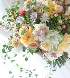新郎新婦様からのメール 奇跡のように : 一会 ウエディングの花