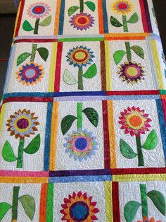 I would call this a happy quilt.