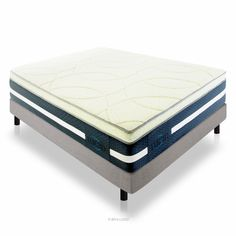 "16"" Natural Latex and Memory Foam Mattress by LUCID®"