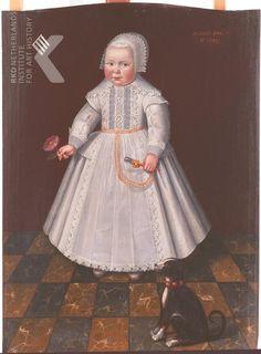 Anonymous, Portrait of Naleken Kelffken (1632-?), 1633