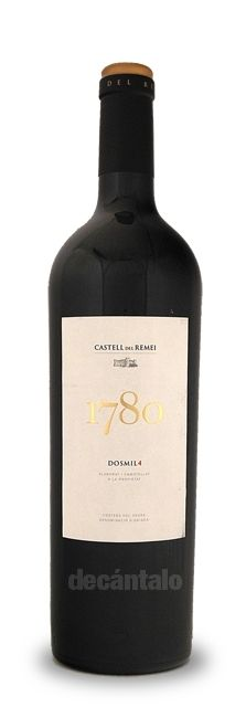 Castell del Remei 1780 2007. An elegant red wine from Costers del Segre