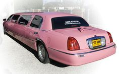 White & Pink Limo Photo Gallery – Star Limos