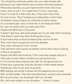 Living with Borderline Personality Disorder