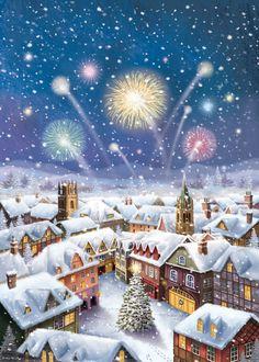 Christmas Scenery, Retro Christmas, Christmas Bells, Outdoor Christmas, Christmas Art, Christmas Lights, Christmas Decorations, Country Boyfriend Gifts, Christmas Gifts For Boyfriend