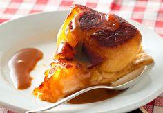 Tarte tatin sauce caramelVoir la recette de la Tarte tatin sauce caramel >>