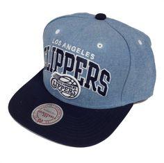 Mitchell & Ness Chambray Arch LA Clippers Snapback