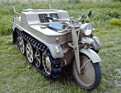 Kettenkrad - motorcycle tank