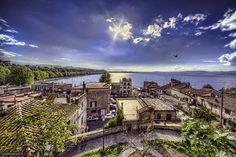 Lago Bracciano, Italia