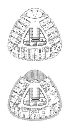 Hotel Plans: Typical and Presidential Suites