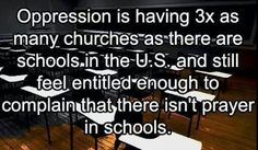 oppression, or at least, hypocrisy. Losing My Religion, Anti Religion, Religion Memes, School Prayer, Secular Humanism, Athiest, Science, Oppression, Morality