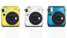 Fujifilm Announces New Instax Mini 70 Instant Camera Fujifilm Instant Camera, Polaroid Instant Camera, Instax Camera, Polaroid Cameras, Instax Mini 70, Fujifilm Instax Mini, Instant Photo Camera, Digital Lenses, Camera Shop