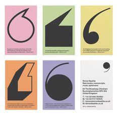 Simon Beattie business cards – design by Purpose