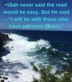 Ya Allah, give me sabr. Islamic Quotes In English, English Quotes, Sabr Islam, Patience Quotes, Having Patience, I Voted, Reading Quotes, You Are Strong, In This World